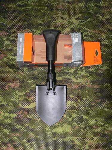 Gerber Gorge Folding Shovel - Gerber Pala Plegable Extendida 2