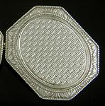 Elegant Art Deco cufflinks. (J9143)