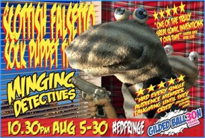 Review: Scottish Falsetto Sock Puppet Theatre - Minging Detectives