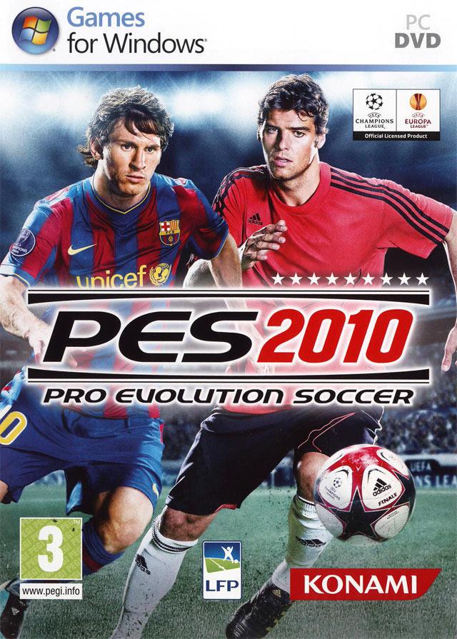 نتيجة بحث الصور عن PES 2010 COVER