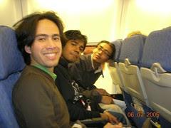Dalam Qantas flight (Melbourne-Sydney), Australia