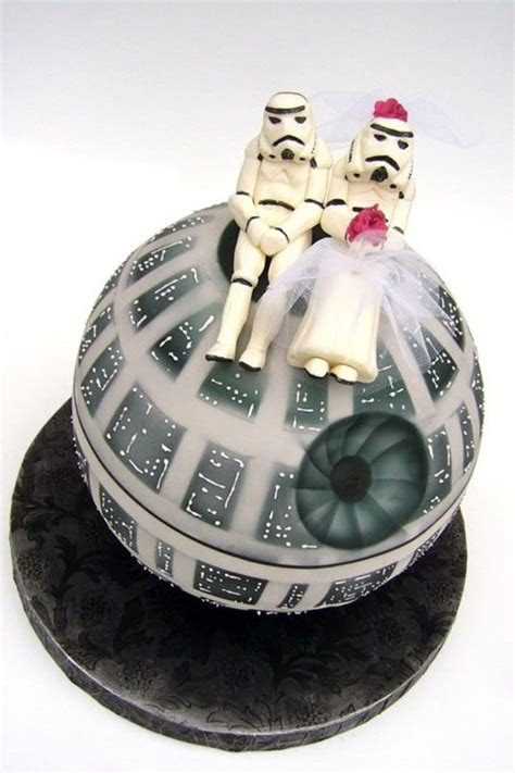 Ten Amazing Star Wars Wedding Cake Toppers   The I Do Moment