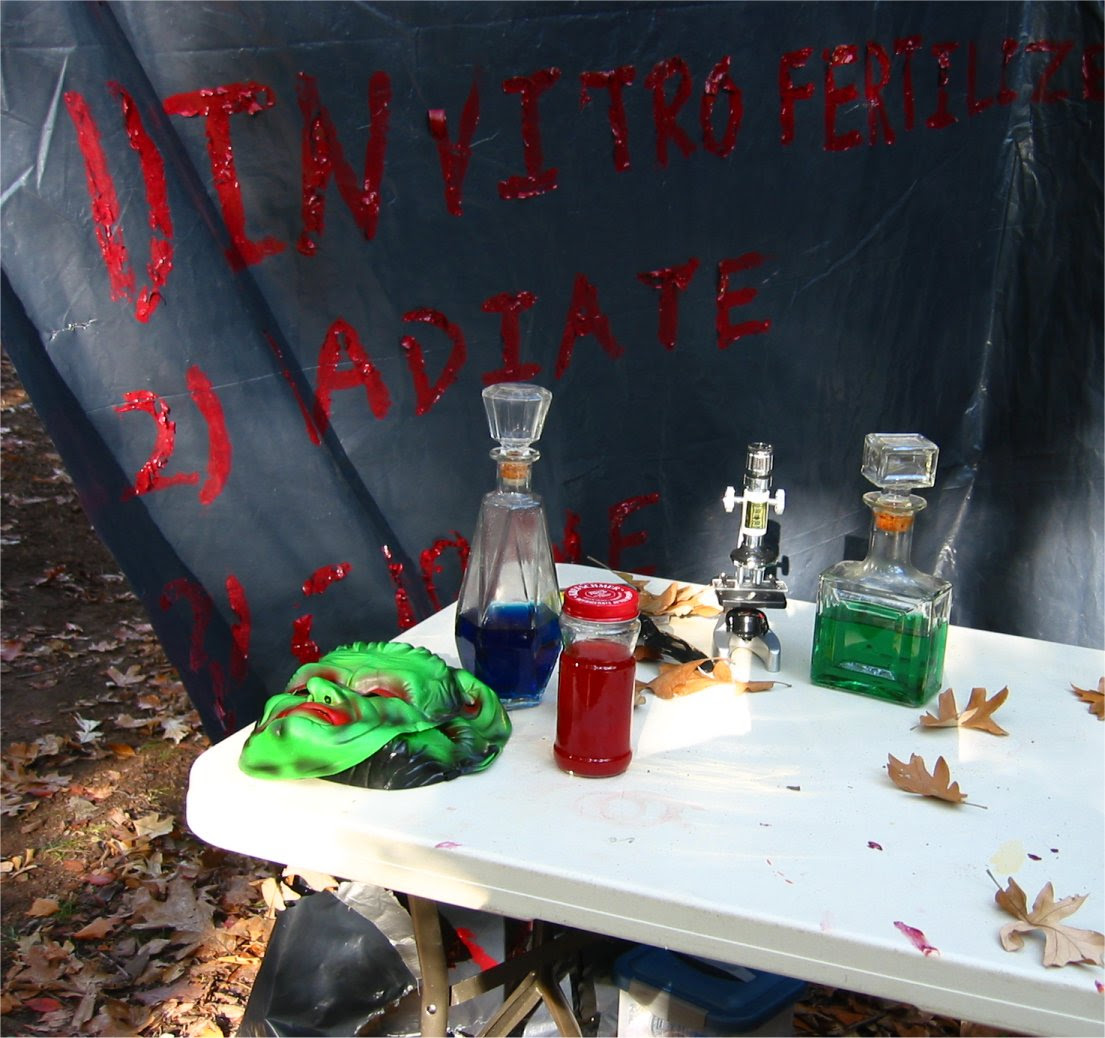Lapham Peak Fright Hike 2005 - genetic experiments and mutations - soul-amp.com