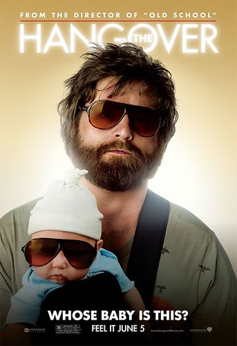zach galifianakis hangover poster. The Hangover Poster 01