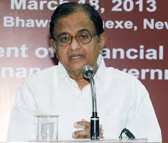 The Union Finance Minister, Shri P. Chidambaram