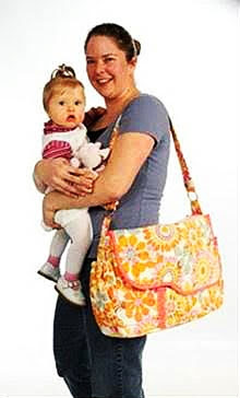 "ABQ161 - Me and My Baby Diaper Bag (21"" W x 12.5"" H x 5.5"" D)"