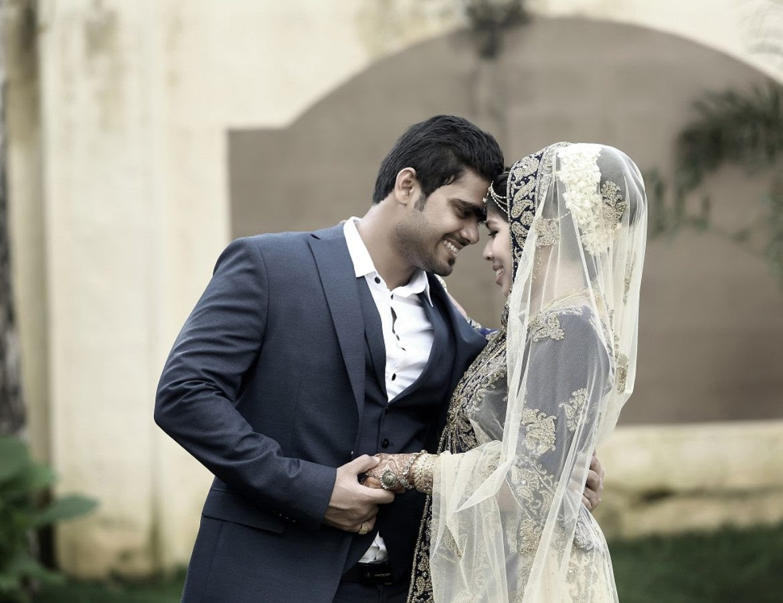 Kerala Muslim Wedding Couple Dress 2019 Atasan Dress Gamis Muslim