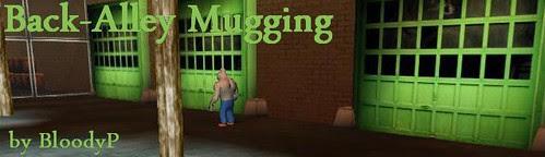 back-alley mugging