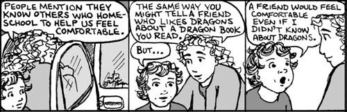Home Spun comic strip #738