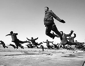 Тренировка резервистов армии Китая