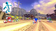 Sonic Free Riders - Rocky Ridge