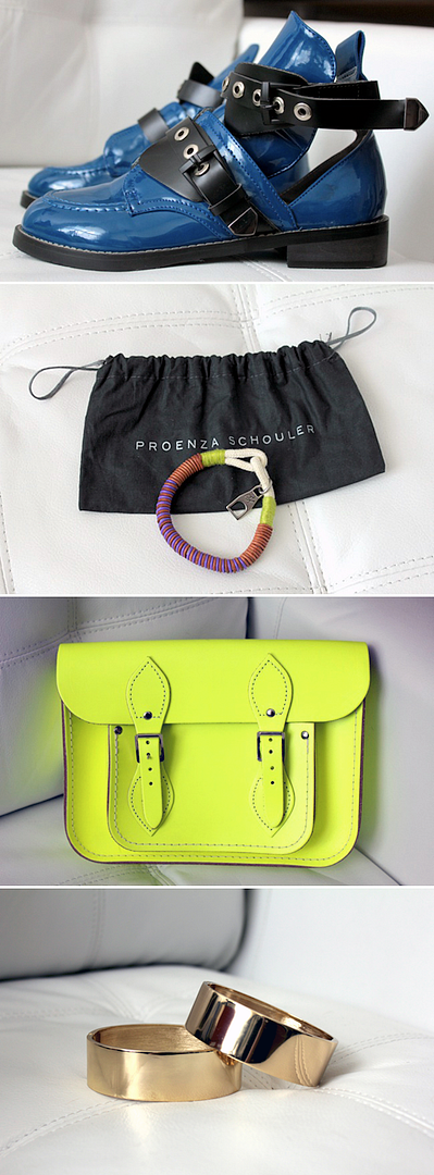 LE FASHION BLOG COPIOUS STORE BALENCIAGA INSPIRED CUTOUT BOOTS PROENZA SCHOULER ROPE BRACELET NEON FLUORO CAMBRIDGE SATCHEL ASOS GOLD ANKLET ANKLE CUFFS SWEEPSTAKES TRIP TO NYC