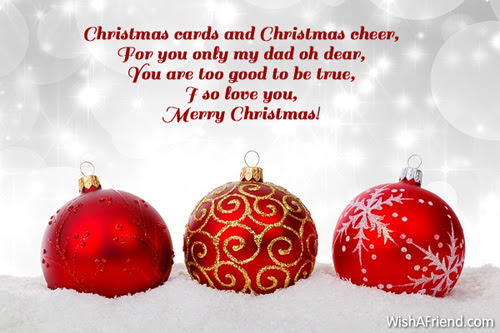 Christmas Messages For Dad
