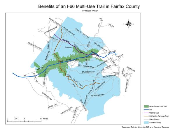 I66 Trail Benefit Area