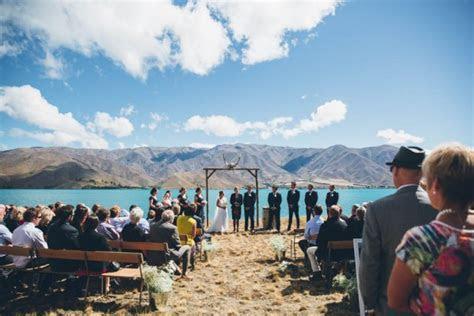 New Zealand Countryside Wedding at Lake Benmore   Junebug