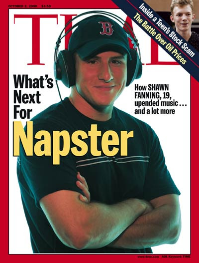 Time Magazine Napster Cover