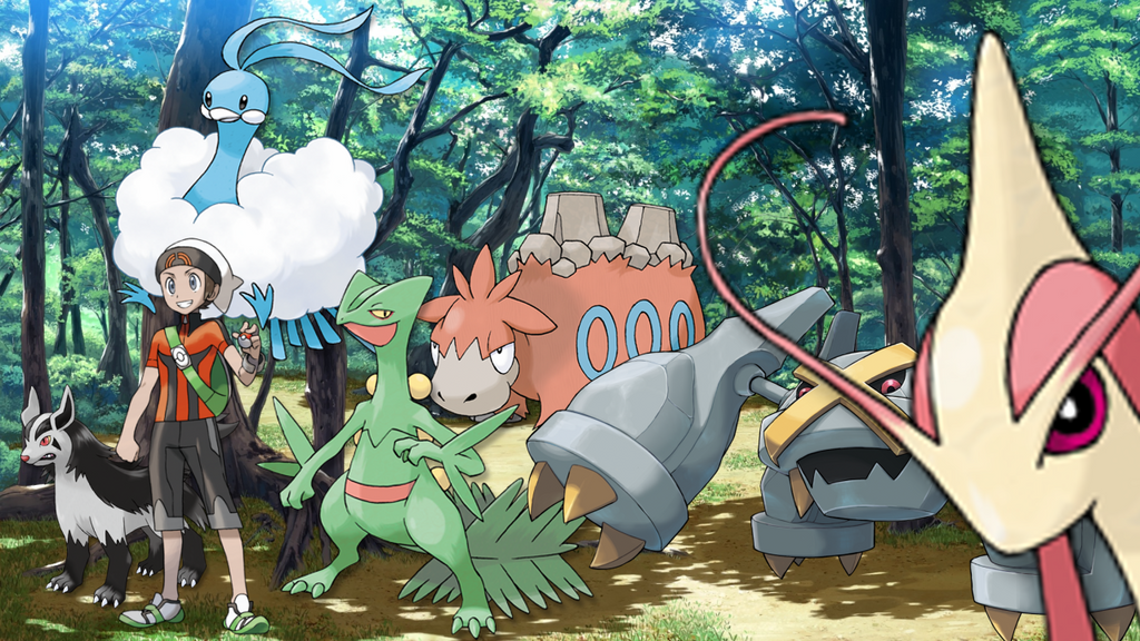 My Team From Pokemon Omega Ruby by Dragonlordmedia on