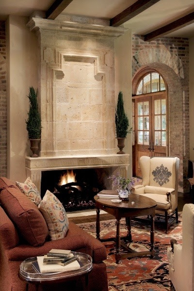 uniqueshomedesign:  Rivercrest - Living charisma design
