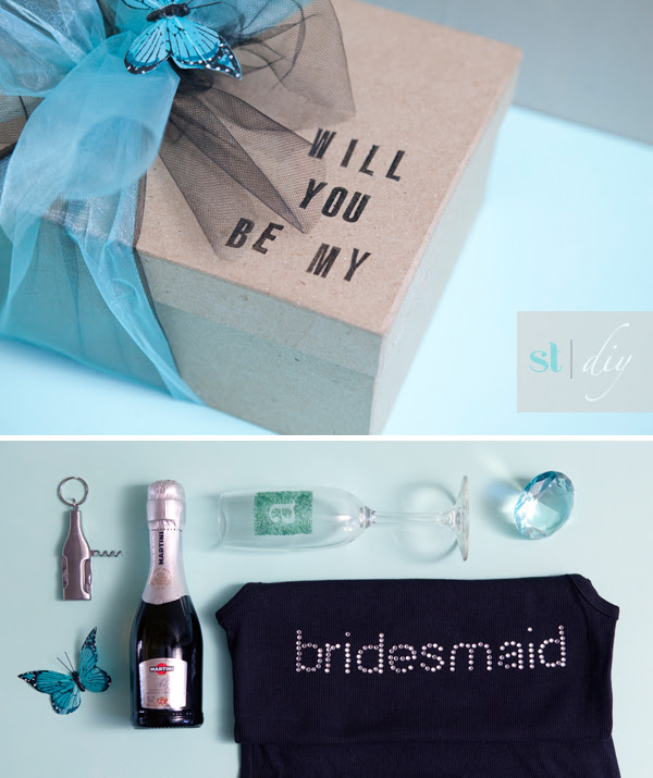 The Original Diy Will You Be My Bridesmaid Box