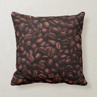 Coffee Beans Pillow