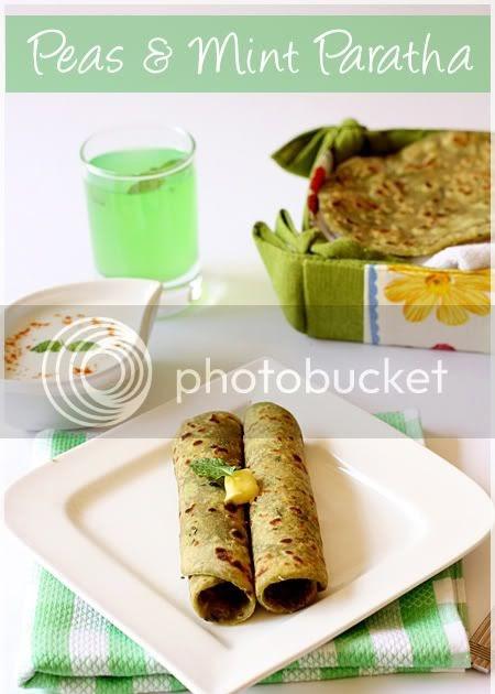Peas & Mint Paratha | 4th Sense Cooking