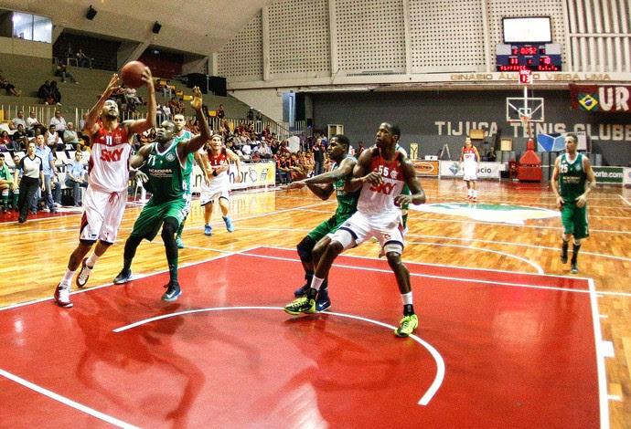 Flamengo X Palmeiras - NBB (Foto: Rudy Trindade / Agência estado)