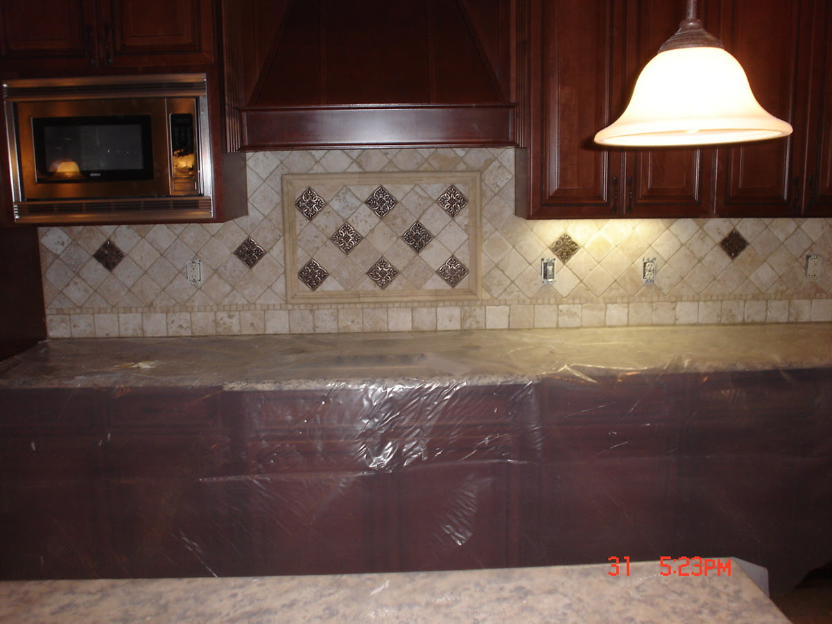 Travertine Kitchen Backsplash Ideas