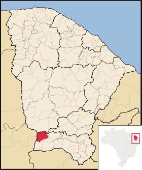 Localização de Campos Sales