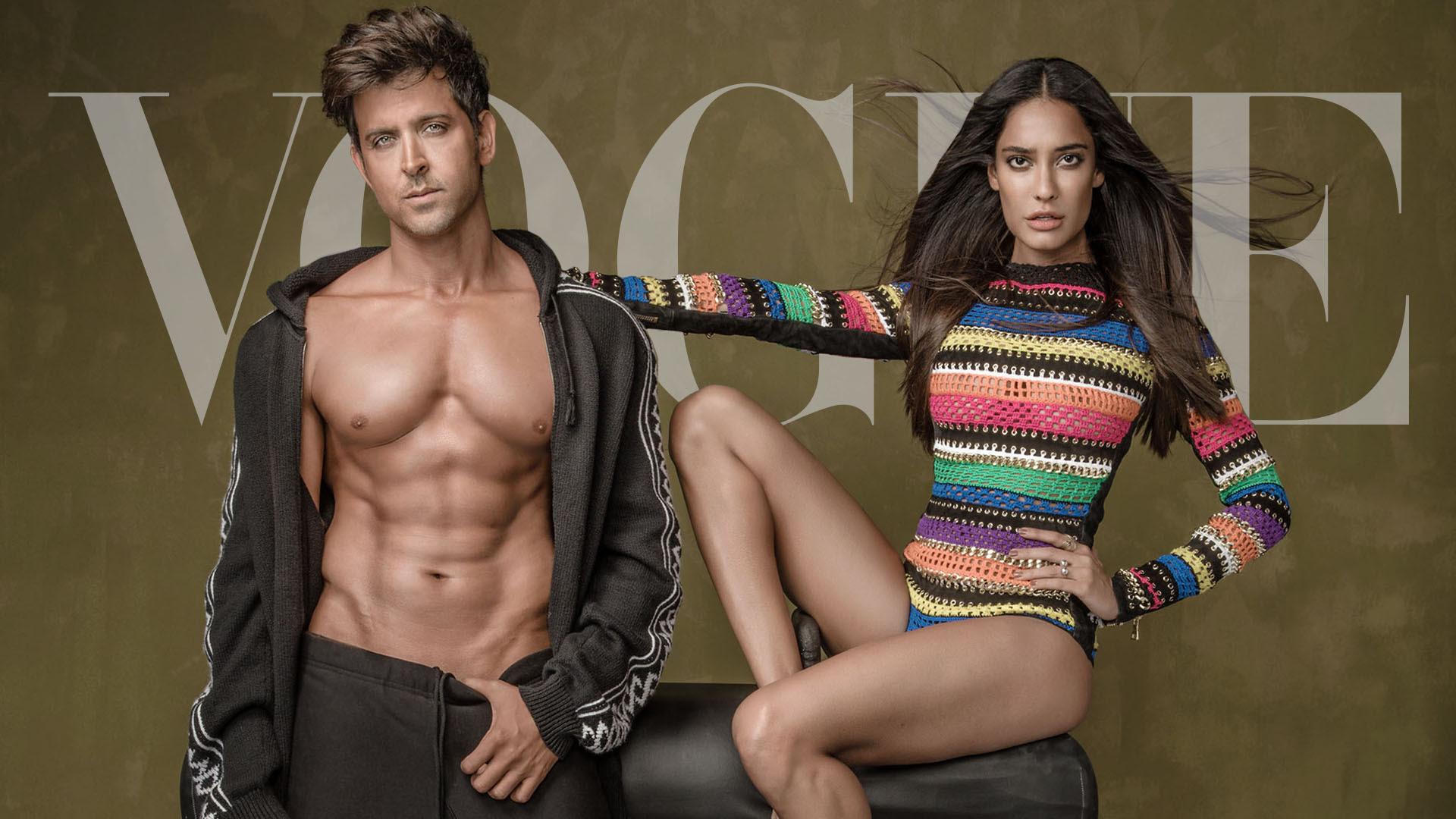 Hrithik Roshan, Lisa Haydon, Vogue