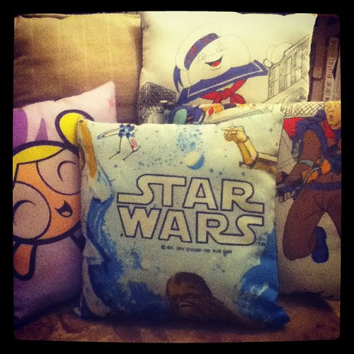 Pillows! #starwars #powerpuffgirls #ghostbusters