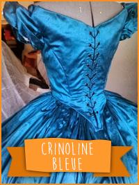 Blue Crinoline