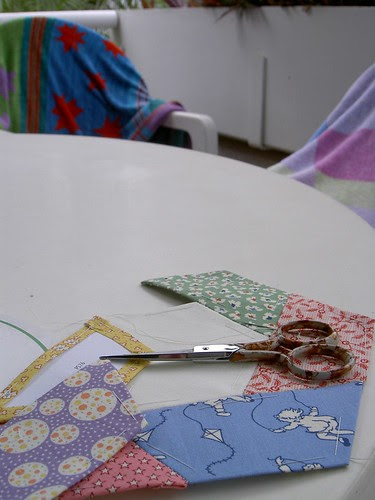 Sewing in the tropics