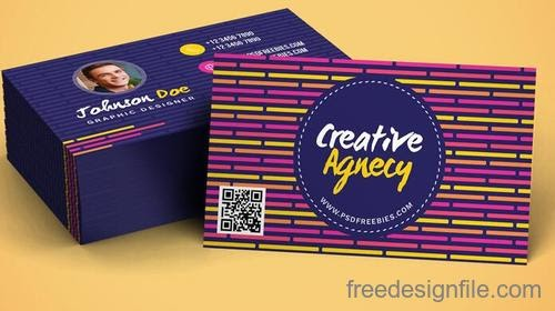 Free Download Template Business Card PSD - Company