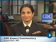 cdc expert dr. agam rao