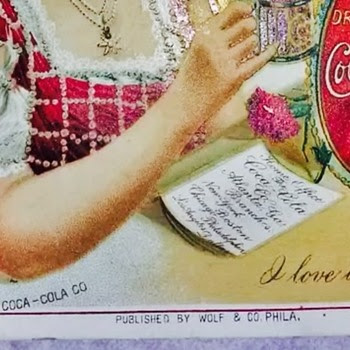1902 Coca Cola Menu
