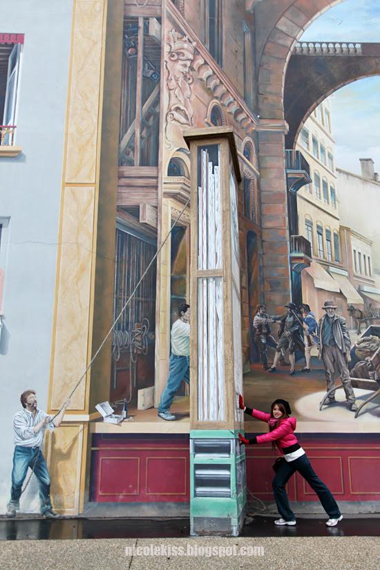 3d mural in lyon