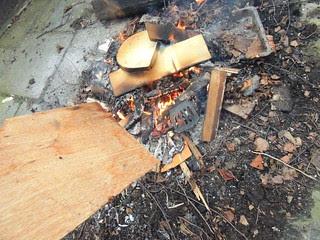 Forging spatula shaft