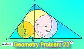 Problema 23: Triángulo rectangulo, Altura, Suma de Inradios.
