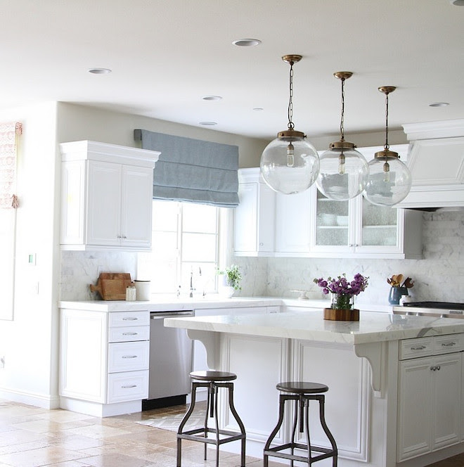 Kitchen Reno: Transform a Tuscan Kitchen into a Bright White Kitchen Home Bunch Interior