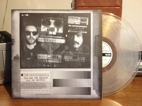 The Mojomatics - You Are The Reason For My Troubles LP - Clear Vinyl (/100) by Tim PopKid