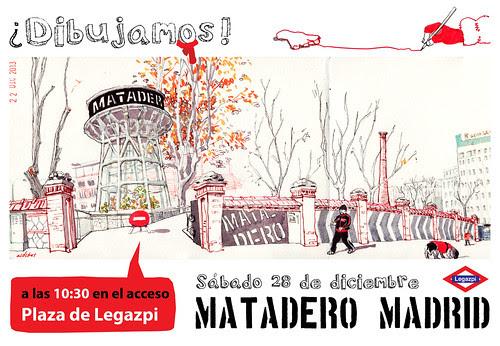 SketchCrawl Matadero Madrid