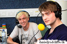 Daniel Radcliffe and Tom Felton on BBC's Test Match Special