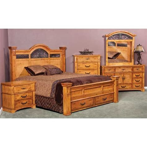 weston  piece bedroom set  pcset american furniture