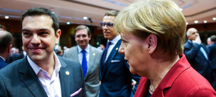 Tο παρασκήνιο από την 7μερη συνάντηση στις Βρυξέλλες: Οι διάλογοι Μέρκελ, Ντράγκι, Γιούνκερ με Τσίπρα