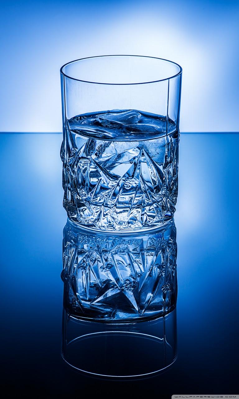 Glass Of Ice Water Ultra Hd Desktop Background Wallpaper For 4k