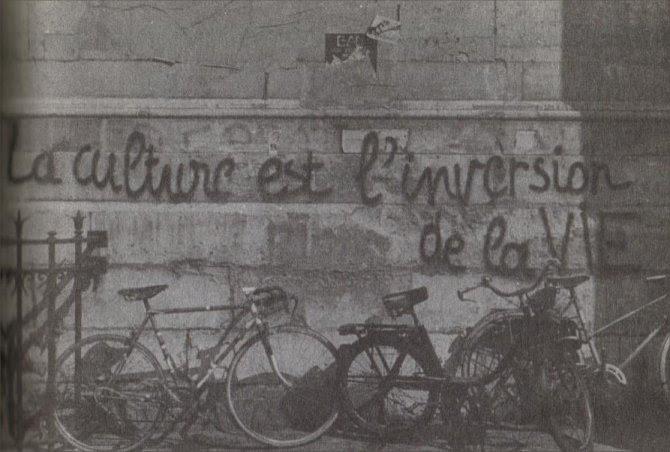 Graffitis Del Mayo De 1968