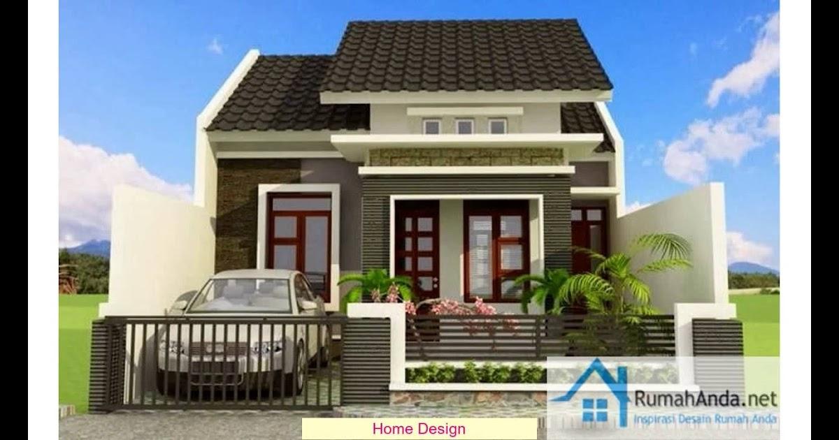Model Rumah Minimalis Ukuran 6x9 | Desain Rumah Modern