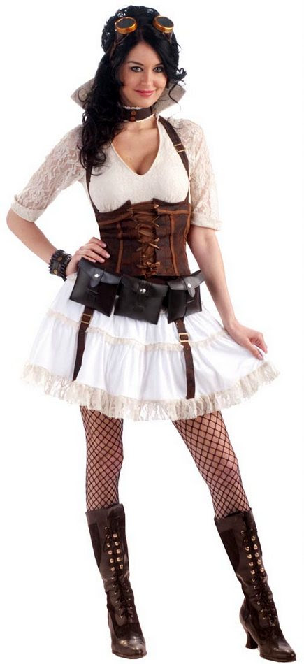 adult steampunk sally costume  candy apple costumes  sale
