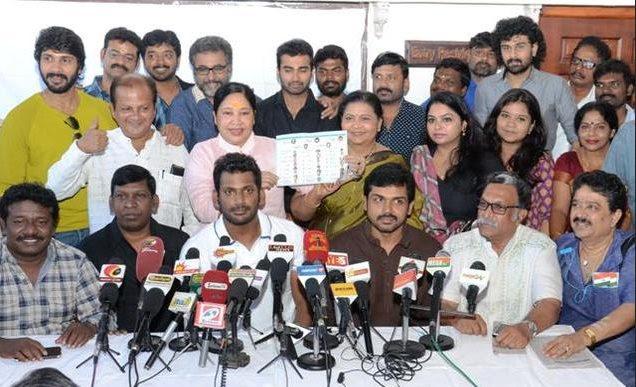 Vishal responds to Raadhika Sarathkumar on Nadigar Sangam elections
