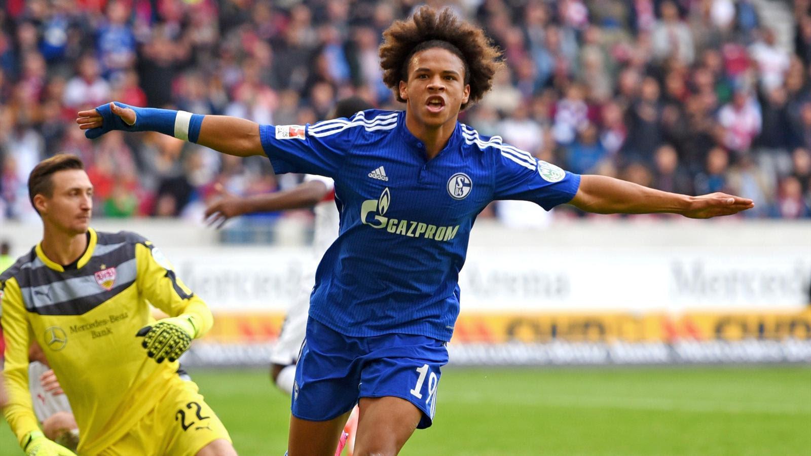 Leroy Sané Schalke 04 Bundesliga